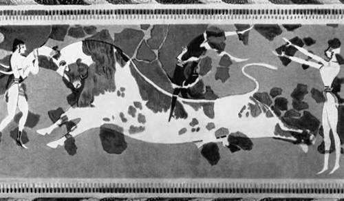 «Акробаты с быком» (Крит)