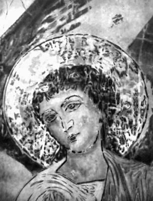 «Ангел». Фрагмент фрески