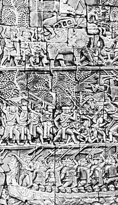 «Битва кхмеров с тьямами» (Камбоджа)