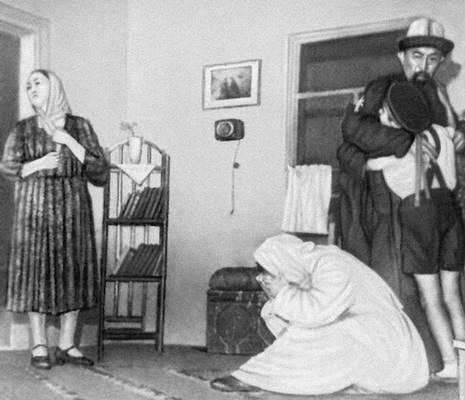«Судьба отца». Сцена из спектакля