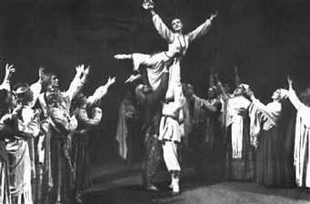 «Сакта свободы». Сцена из балета