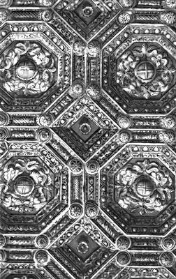 Артесонадо (кессонированный потолок)