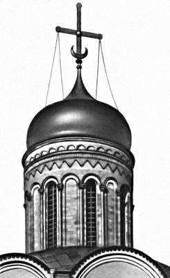 Барабан собора Рождественского монастыря (Владимир)