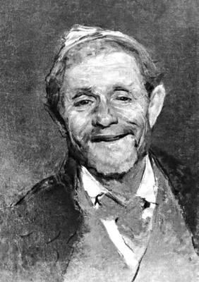 Беридзе А. Л. «Портрет смеющегося старика»