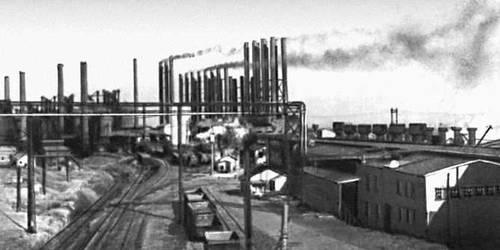 Бирмингем. Металлургический завод (США)