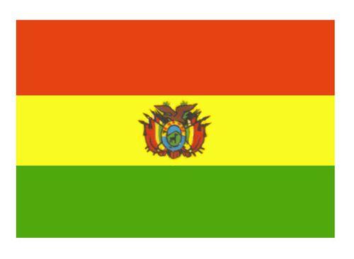 Боливия. Флаг государственный