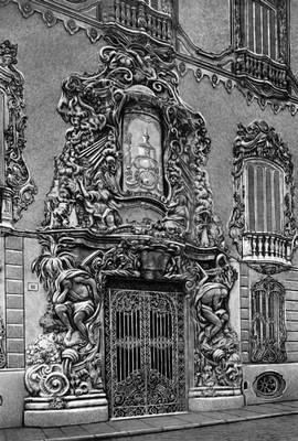 Валенсия. Портал дворца Агуас