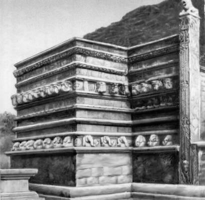 Вахалькада ступы Кантакачетия (Шри-Ланка)