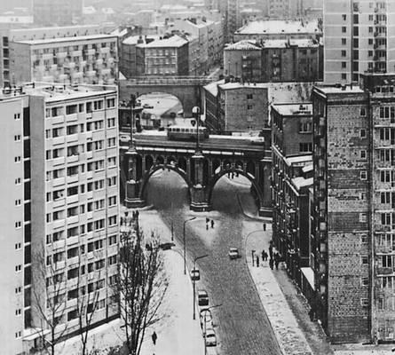 Варшава. Район Повисле