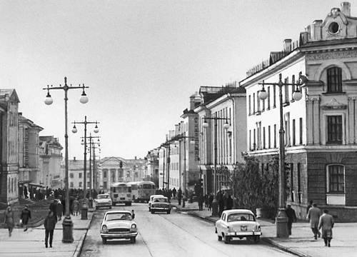 Воркута. Московская улица