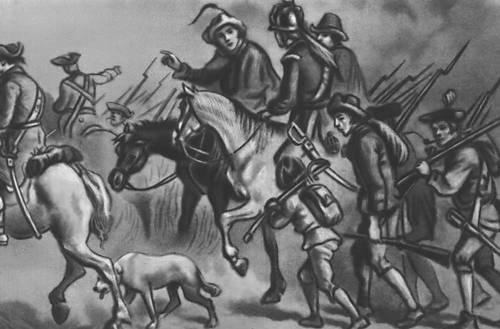 Война за независимость в Сев. Америке. Выступление фермеров против англичан