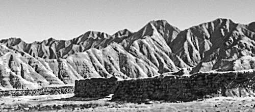 Горы в Белуджистане (Пакистан)
