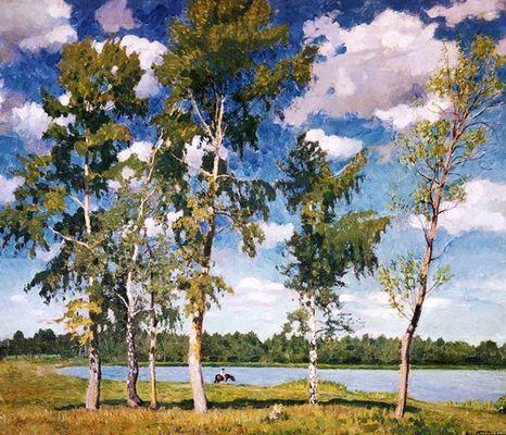 Грабарь И. Э. «На озере»