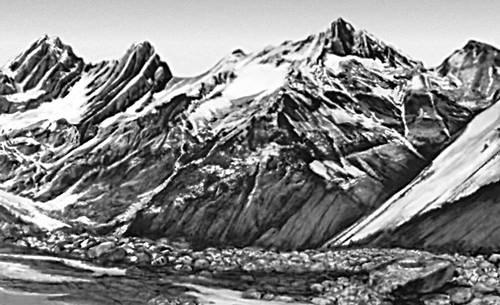 Гребневая зона Пиренеев