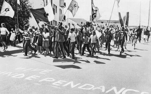 Демонстрация молодых патриотов (Алжир)