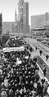 Демонстрация протеста (Западный Берлин)