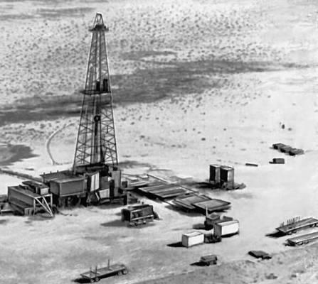 Добыча нефти в Восточной провинции (Саудовская Аравия)