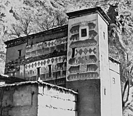 Дом-крепость в долине Урика (Марокко)