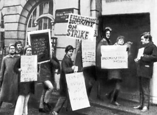 Забастовка. Великобритания