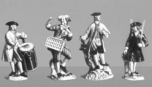 Кендлер И. И. Жанровые статуэтки