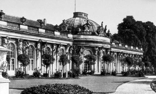 Кнобельсдорф Г. В. Дворец Сан-Суси в Потсдаме