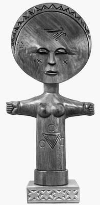 Кофи Антубам. Женская фигурка «Плодородие»