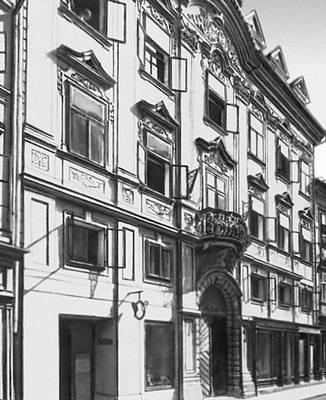 Любляна. Дом Швейгера (Словения)