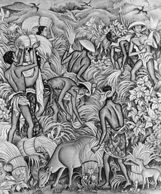 Маде И. Б. «Косьба травы»