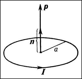 Магнитный момент кругового тока