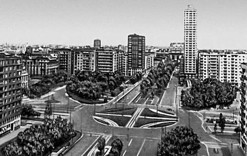 Милан. Площадь Республики
