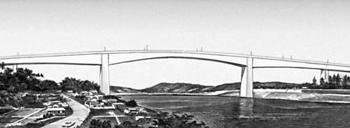 Мост через пролив Урато (Япония)