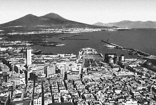 Неаполь. Вид на город