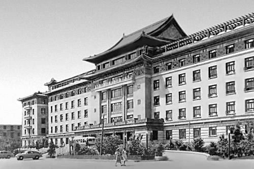 Пекин. Гостиница «Дружба»