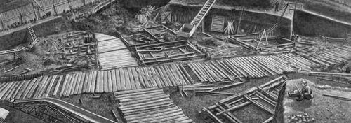 Раскопки в Новгороде