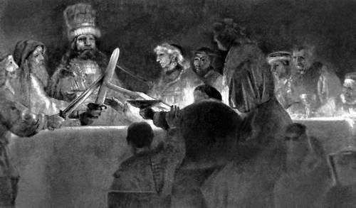 Рембрант. «Заговор Юлия Цивилиса»