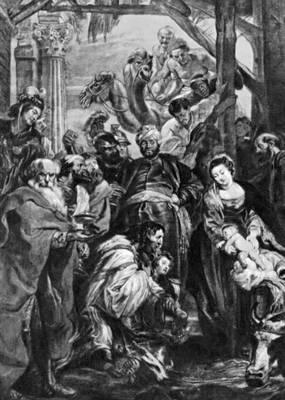 Рубенс П. П. «Поклонение волхвов»
