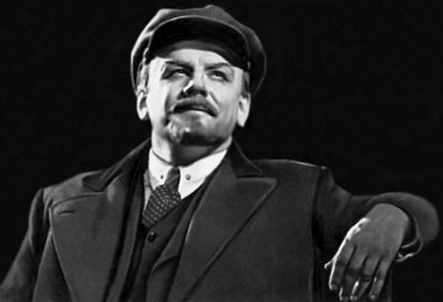 Смирнов Б. А. в роли В. И. Ленина