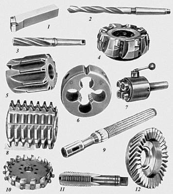Станочный металлорежущий инструмент