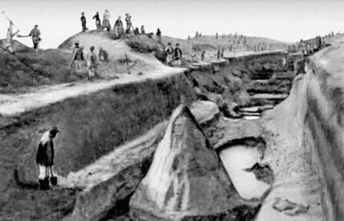 Строительство Карабекаульского канала (Туркменская ССР)