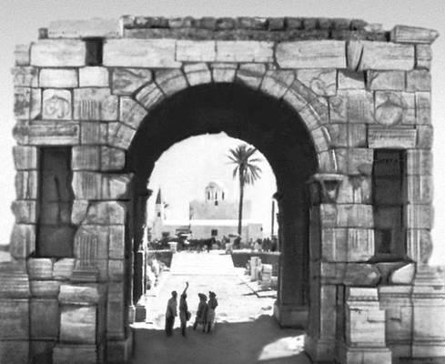 Триумфальная арка. (Триполи)