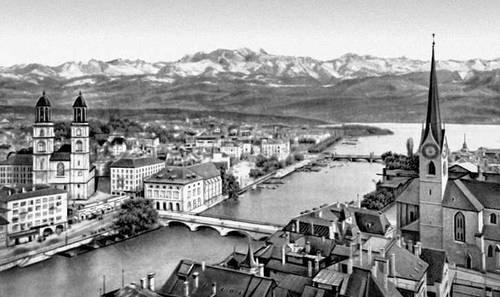 Цюрих (вид части города)