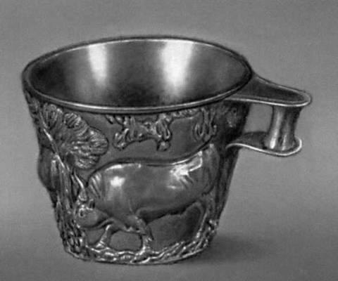 Эгейское искусство. Кубок из толоса