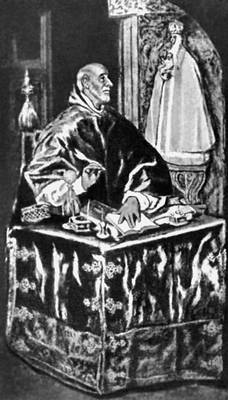 Эль Греко. «Св. Иероним»