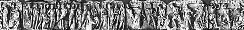 Эллинистическая культура.Символические сцены и «гигантомахия» фриза храма в Лагине