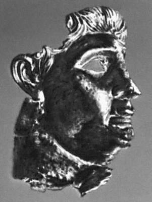 Эллинистическая культура. Голова статуи Антиоха IV