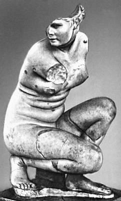 Эллинистическая культура. Дойдалс из Вифинии. «Коленопреклонённая Афродита»