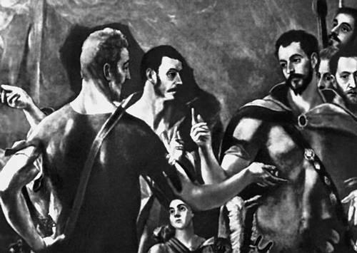 Эль Греко. «Мученичество св. Маврикия»