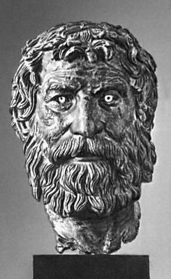 Эллинистическая культура. Голова философа