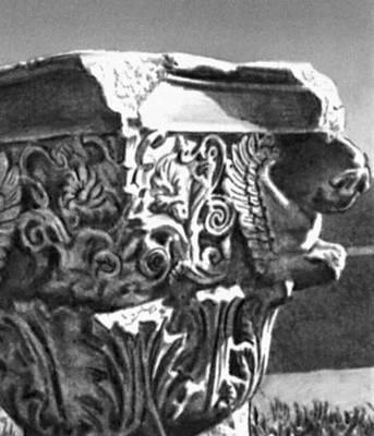 Эллинистическая культура. Капитель святилища Деметры в Элевсине