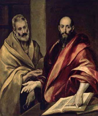 Эль Греко. «Апостолы Пётр и Павел»